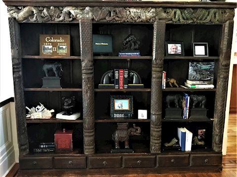Antique Indonesian Bookcase