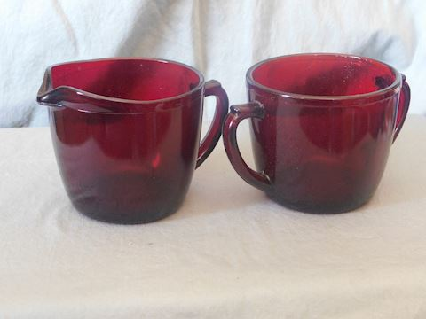 sugar and creamer set 2