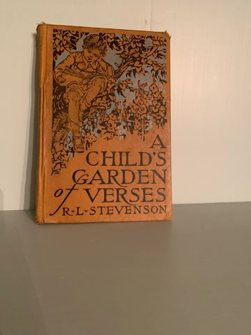 MB. 118. Book.    A child's Garden of Verses