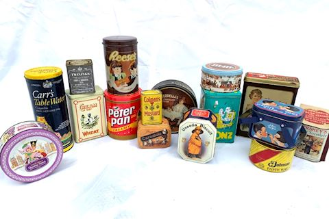 Collectible Tins Lot 002