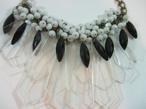 Couture  Clear Rhinestone crystal Choker/Necklace