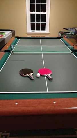 Table Tennis Conversion Board - Multigame