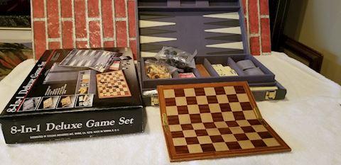 8in1 board game new in box