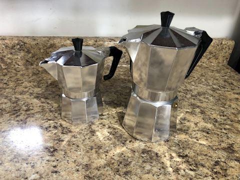 Pezzetti Italian coffee maker (lot of 2)