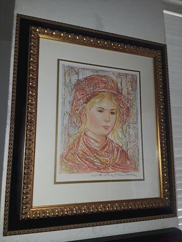Edna Hibel Artwork