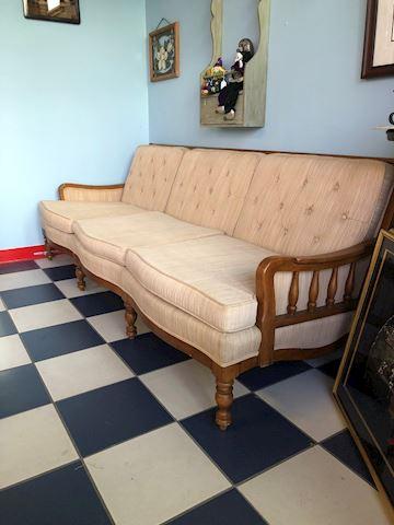 Vintage Globe Modern Couch