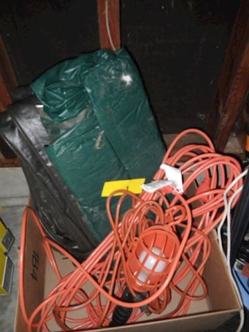 Lot #1 - Drop Light and Heavy Duty Extension Cord