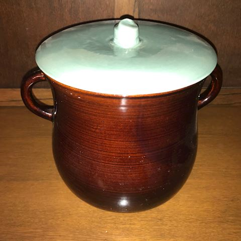 Red Wing Pottery Cookie Jar/Canister with Lid