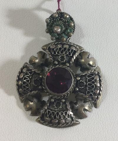 Sterling Celtic Cross Pendant