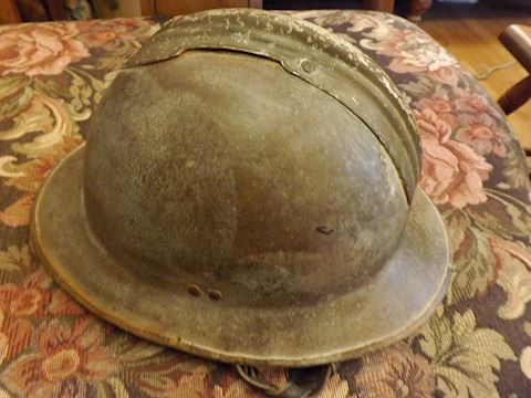 Military Helmet French WW1 Spanish Civil War