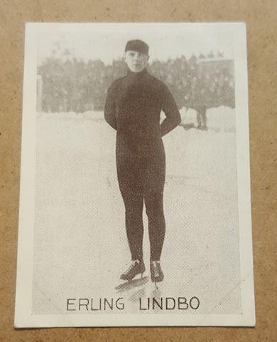 1930's Real Photo German Ice Skating Tobacco Card