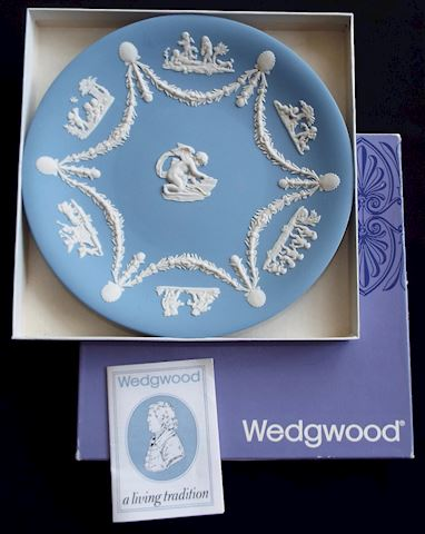 Wedgwood Cupid Cake / Serving Plate with Box