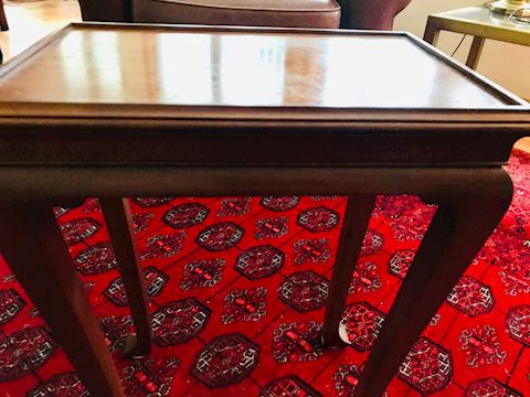 Small cherry end table