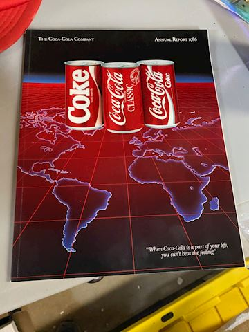 Collection of Coke books, Posters and painting
