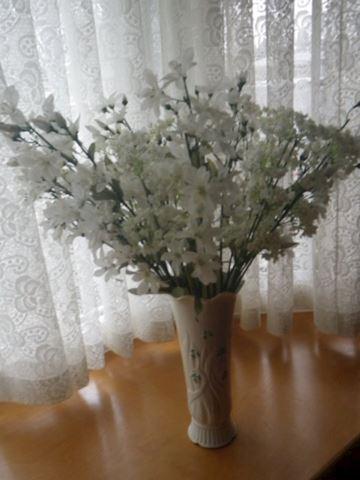 Blue Label Belleek Vase