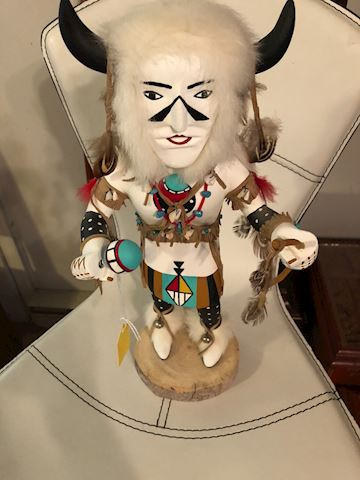 White Buffalo Kachina doll