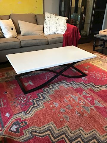 Contemporary Stone Coffee Sofa Table