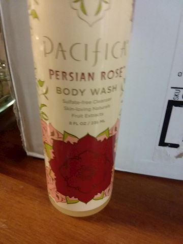 Persian Rose Body Wash by Pacifica 8oz