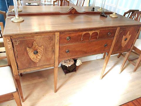 Antique Buffet w/ Inlay Limbert Furniture