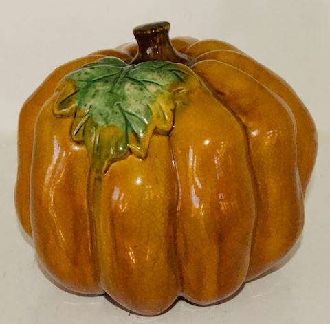 Ceramic Pumpkin.