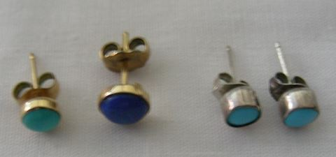 Pierced Stud Earrings