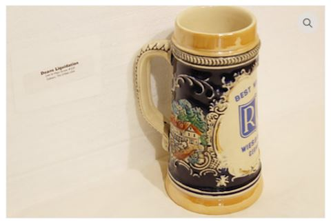 Beer Mug Best Wishes RC Stein West Germany - RARE