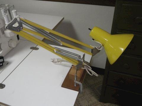 Mid Century Goose Neck Lamp