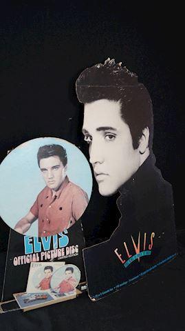 Lot #155 Original Elvis Presley Displays & Cutouts