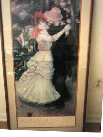 Paris dancing partners poster