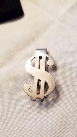 Sterling money clip