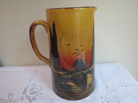 Royal Doulton D3416 Large Pitcher - 10.75