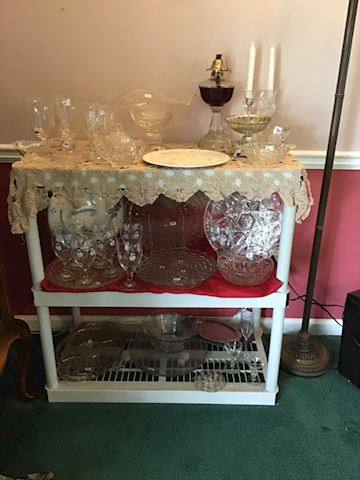 Huge Lot a Of Really Good Glassware