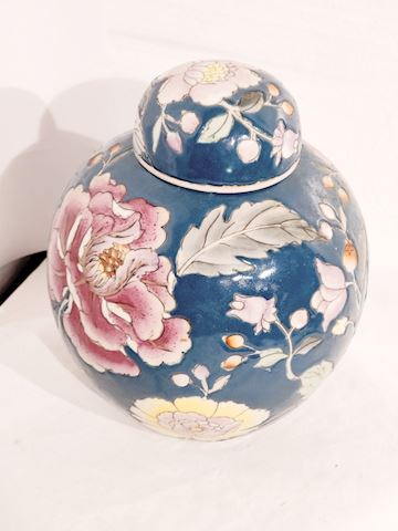 Antique Chinese Pottery Textured Hand Painted