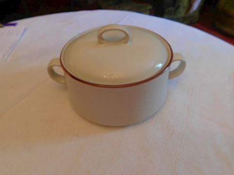 212 Vintage Stoneware Bean Pot