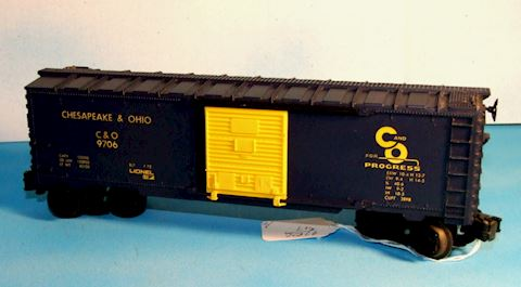 9706 CHESAPEAKE & OHIO BOX CAR ** 1972