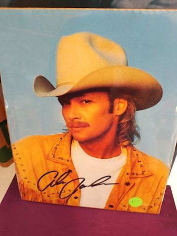 Alan Jackson Signed Photo