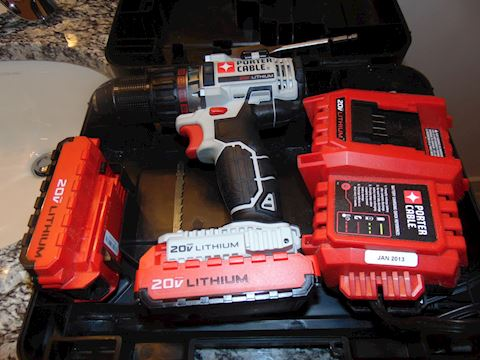 Porter Cable power drill