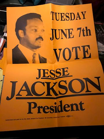 Jesse Jackson for President 1988