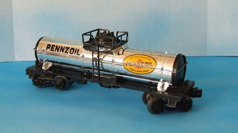 9354 PENNZOIL 1 DOME TANK CAR  1980