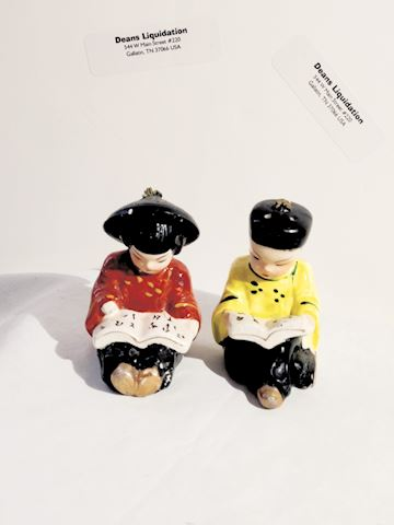 Salt N Pepper Shakers Asian