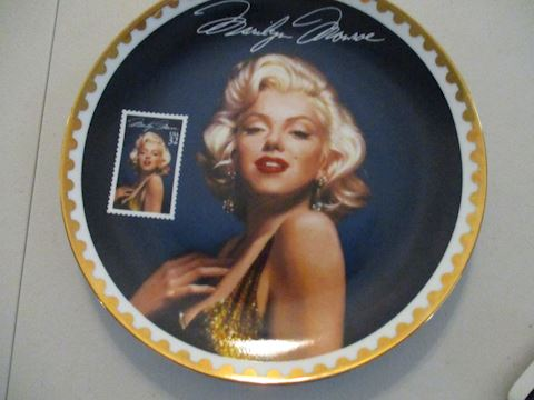 Marilyn Monroe Commemorative Plate