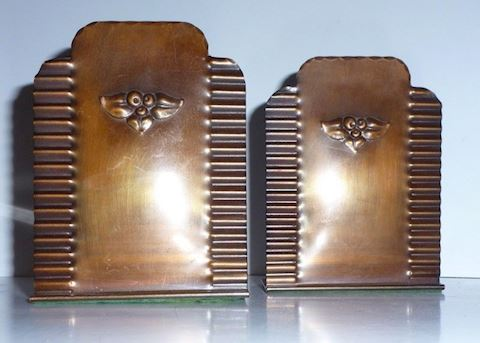 Vintage 1930's Craftsmen Hand-Forged Bookends