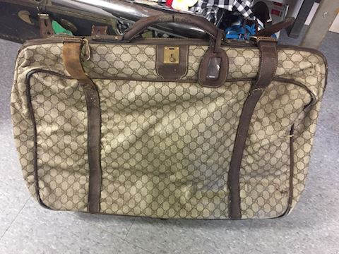 Gucci Suitcase Authentic Vintage