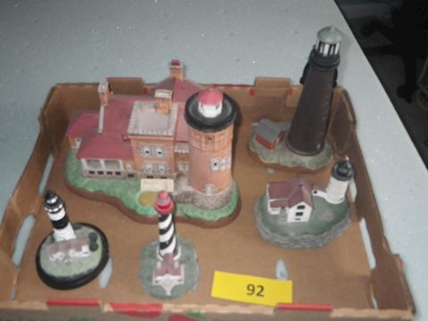 Lot #92 - Lighthouses