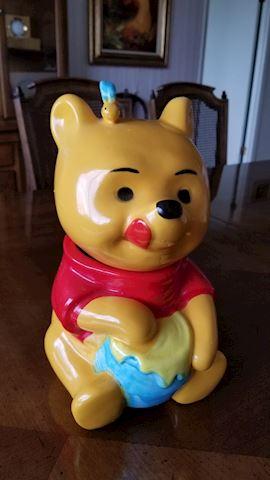 Winnie The Pooh vintage 1970s cookie jar