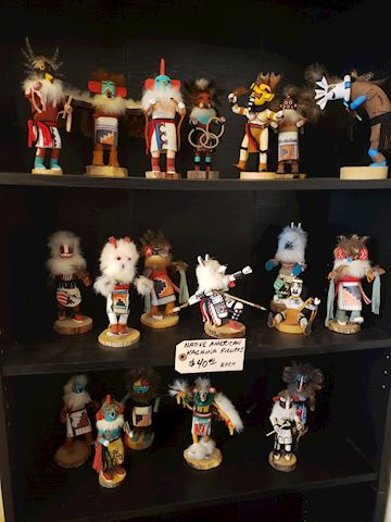 20 Native American Kachina Dolls