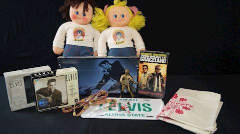 Lot #39 Elvis Presley Memorabilia Merch Pack