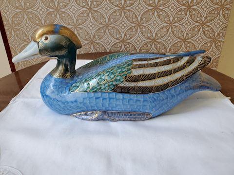 Cloisonné Duck