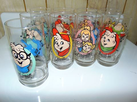 Vintage Alvin and The Chipmunks Glasses