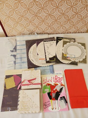 Various paper goods